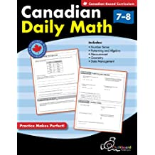 Canadian Daily Math Grades 7-8