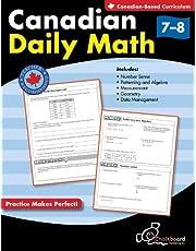Canadian Daily Math Grades 7-8