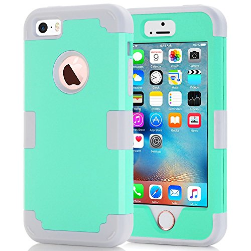 iphone 5 case protective blue - 6