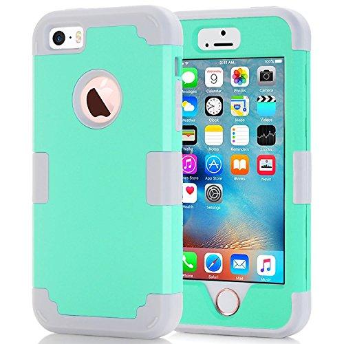 i phone 5s case light blue - 7