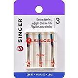 SINGER 2108 Denim Machine Needles, Size 100/16, 3-Count