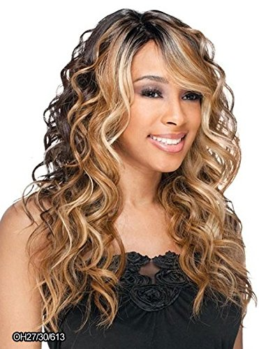 Freetress Equal Synthetic Lace Front Deep Invisible Part Wig - Bently-1 Jet Black (Best Lace Wig Adhesive For Long Term Wear)