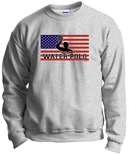 Water Polo Gear American Pride Water Polo Crewneck Sweatshirt XL ()