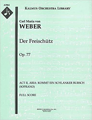 By Carl Maria Von Weber - digital sheet music to download