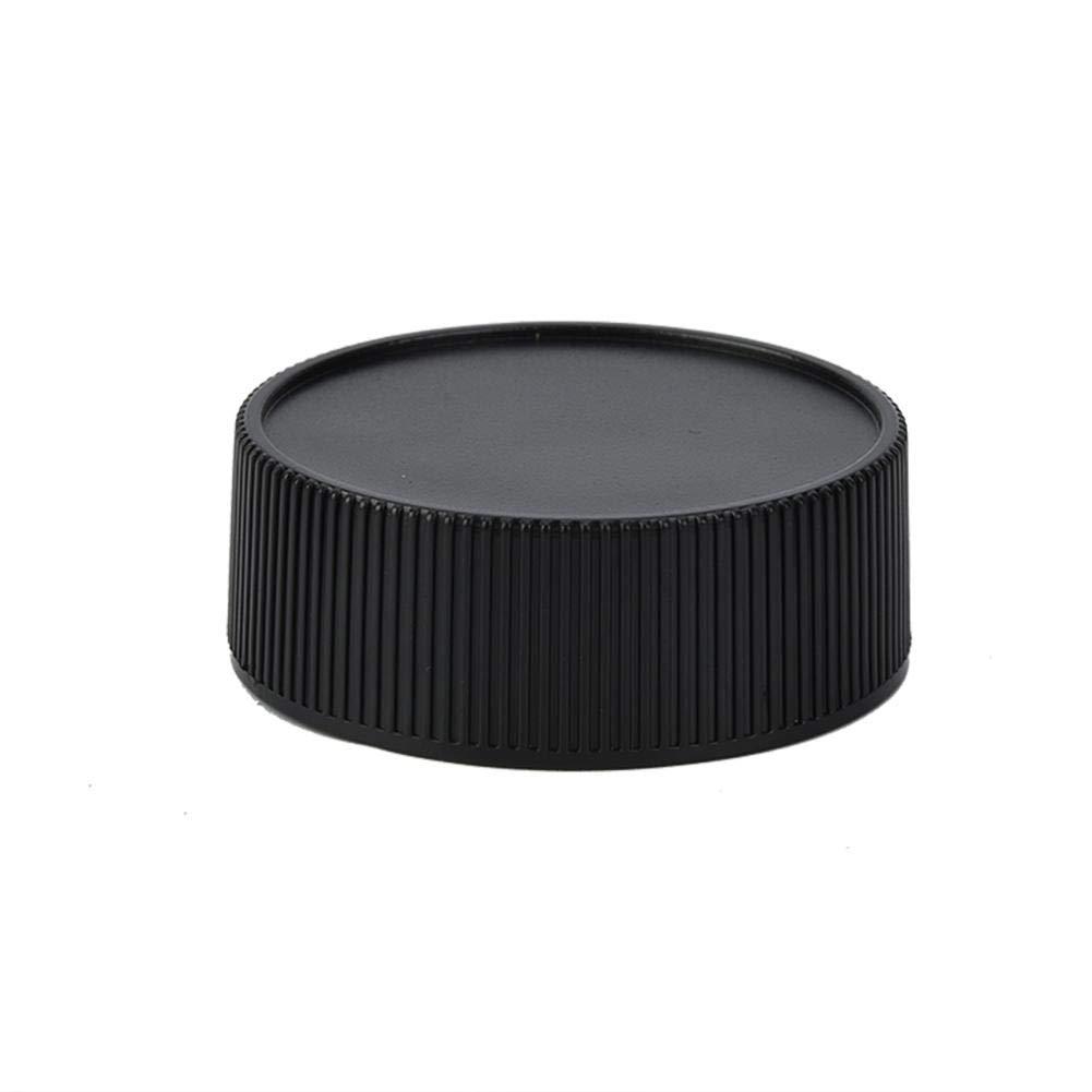 7//8 LM 5PCS Tapa Protectora de la Tapa Trasera de pl/ástico Se Adapta a Durabilidad s/ólida y Resistente al Desgaste para la c/ámara Leica M M6 Pomya Tapa de la Lente de la c/ámara