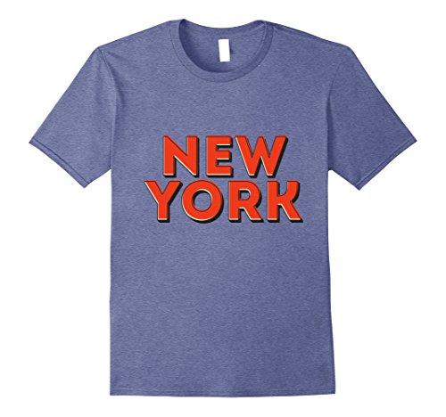 Mens New York City NYC Souvenir Unisex T-shirt 3XL Heather - Shops Best New York In Soho