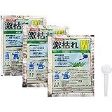 【非農耕地専用除草剤】激枯れW 50g 3袋セット(15L分)