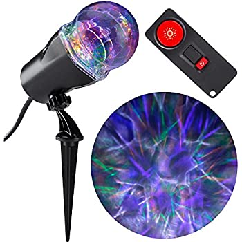 Amazon Com Gemmy Led Lightshow Projection Spiderweb 15