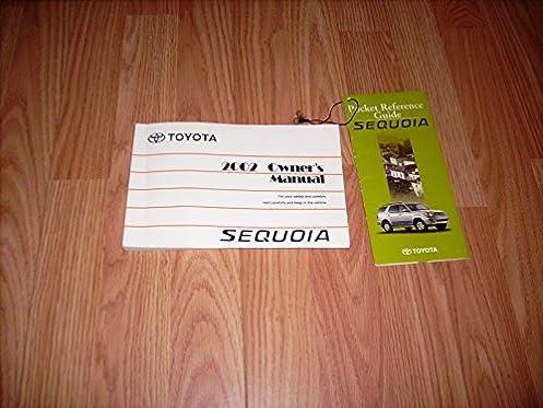 2002 toyota sequoia owners manual toyoyta amazon com books rh amazon com 2016 sequoia owners manual 2011 toyota sequoia owners manual
