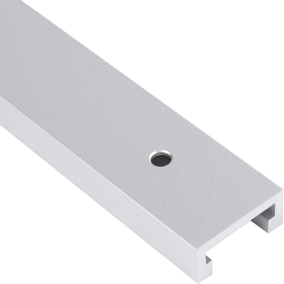 400 mm Aluminiumlegierung T-Schiene T-Nut-Schiene f/ür Holzbearbeitungs Werkbankmaschinen 300 mm 300mm