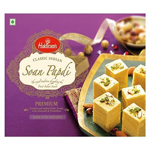 Haldiram's Soan Papdi Sweet 500g (17oz) Online Indian Grocery by Haldiram