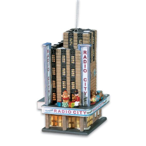 Christmas in the City Dept 56 Radio City Music Hall Lit Ornament (59432)