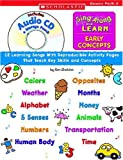 img - for Sing Along and Learn: Early Concepts (with Audio CD): 12 Learning Songs With Reproducible Activity Pages That Teach Key Skills and Concepts book / textbook / text book