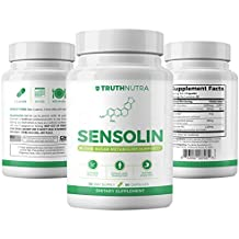 Truth Nutra - Sensolin - All Natural Blood Sugar Lowering Supplement - 30-Day Supply - Blood Sugar Metabolism Support - Can Regulate Blood Glucose - No Artificial Fillers - Non GMO