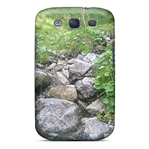 Galaxy Cover Case - God Create Blu River Protective Case Compatibel With Galaxy S3