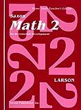 Saxon Math 2 an Incremental Development Home Study