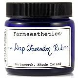 Farmaesthetics Deep Lavender Rub (Chest, Neck, Hands and Feet) 1.5 oz