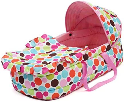 Amazon.com : Cot Crib Portable Baby Bed Baby Bassinet Bed ...