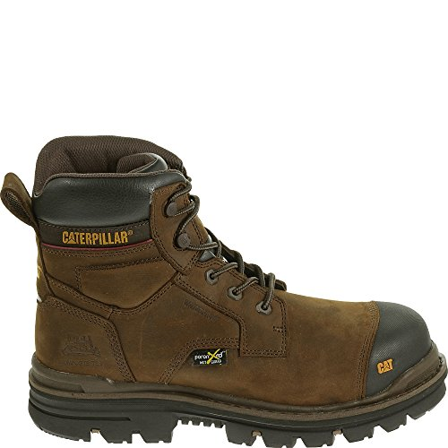 Boot Work Toe RASP Metatarsal Waterproof Caterpillar Dark Composite Guard Brown 6