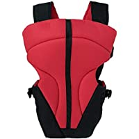 MOM'S GADGETS Carrier Bag/Baby Carry/Adjustable Hands Free 4 in 1 Baby Carrier Bag Universal/Baby Safety Belt/Child Safety Strip/Baby Sling Carrier/Baby Back Carrier/Baby Carrier Belt/Baby Holder- RED