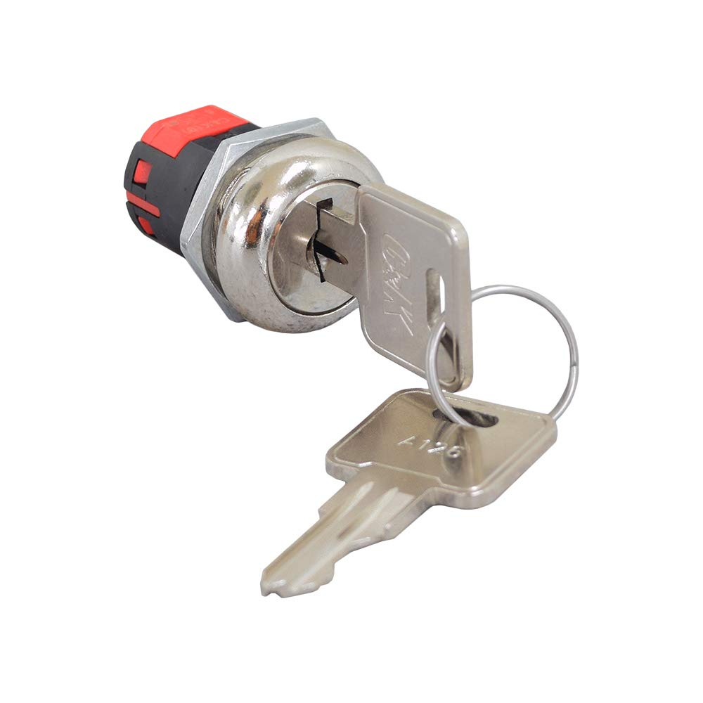 Alvey Key Switch with Standard Metal Keys for Mobility Scooters by AlveyTech