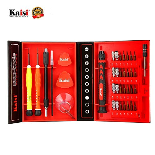 Repair Tools Kit Magnetic Screwdriver Kit for iPhone/Android, Samsung, ZTE, Tablets, PC, Mac Book, Computer Repair Kit and More by Kaisi