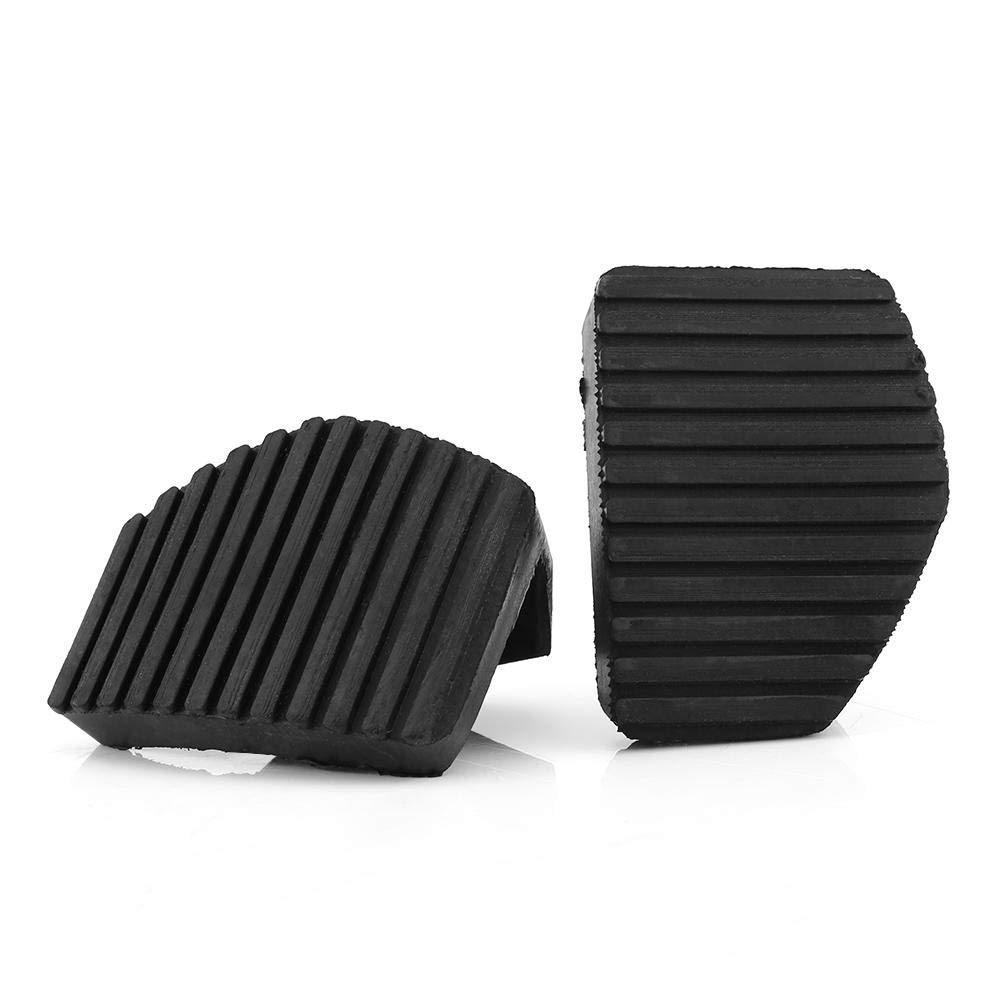 Dibiao Black Car Clutch Brake Pedal Rubber Pad Cover for Auto Renault Megane Laguna Clio Kango Scenic