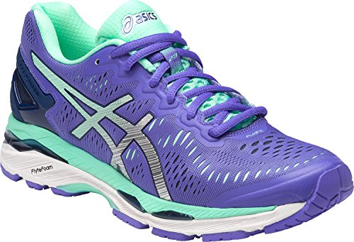 ASICS Womens Gel-Kayano 23 Running Shoe, Purple/Silver/Mint, 10 B(M) US by ASICS (Image #4)