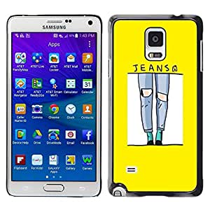 Dragon Case - FOR Samsung Galaxy Note 4 - everyone wants to live on top - Caja protectora de pl??stico duro de la cubierta Dise?¡Ào Slim Fit