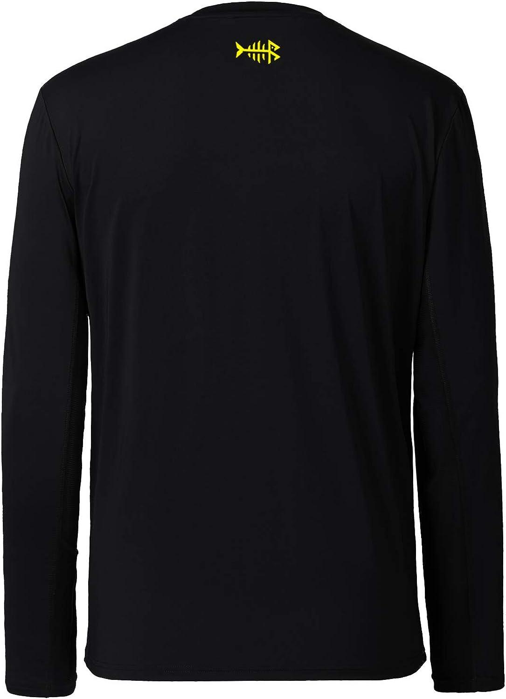 Bassdash Men/'s UPF 50 Performance Long Sleeve T-Shirt UV Sun Protection Fishing Hiking Sports Shirts