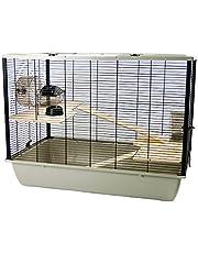 Little Friends Grosvenor ratten- en hamsterkooi met houten plateau en -ladder