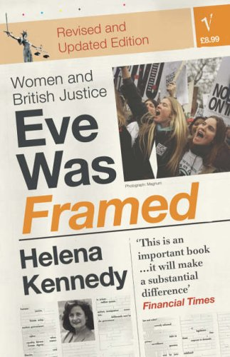 bibliophilia read more books recommended reading eve was framed helena kennedy law