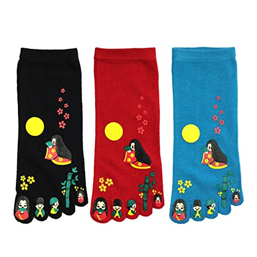 Wrapables Japanese Finger Cartoon Socks