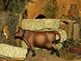 Collectible Animal Figurine Cow Nativity Scene 3.5'' Farm Figure - USA_Mall