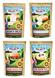 Paleo-Keto Friendly-Grain Free Bread Mix - Variety 4 PK - 10.2 oz each …