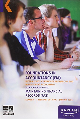 FA2 Maintaining Financial Records - Exam - Records Financial Maintaining