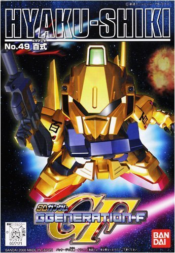 百式 NO.49 「SD ガンダム G-GENERATION-F」の商品画像