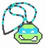 Tmnt Ninja Turtle Kandi Necklace, Accessories, Rave Wear Music Festivals, Edm