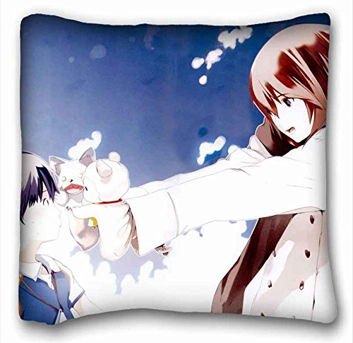 Custom ( Anime Wagaya No Oinari sama ) DIY Pillow Cover Size 16