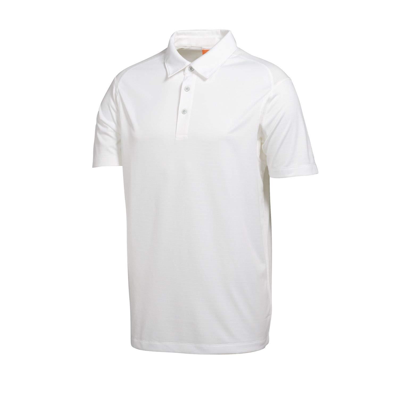 Puma Golf Boy's Tech Polo Tee, White, Small by PUMA
