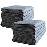 "Amazon Price History for:UBOXES Textile Moving Blankets (12 Pack) Professional Quality Moving Skins 54"" x 72"" Pads, Grey"