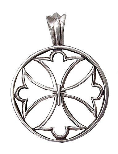 Sterling Silver Superb Canterbury Cross ()