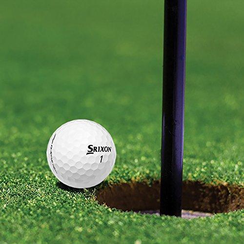 Srixon Q-Star Spin Skin Technology All-Ability Pure White Golf Balls, 6 Dozen by Srixon (Image #4)