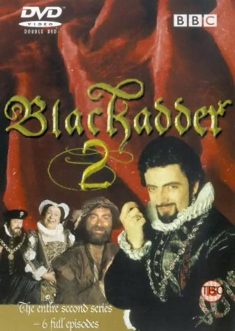 Picture of BBCDVD 1019 Black adder 2 by artist Richard Curtis / Ben Elton from the BBC dvds - Records and Tapes library