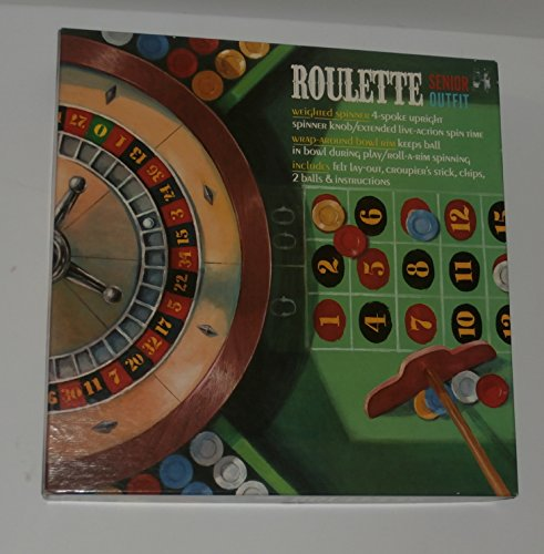 Transco Adult Games Vintage Roulette Senior Outfit Game ()