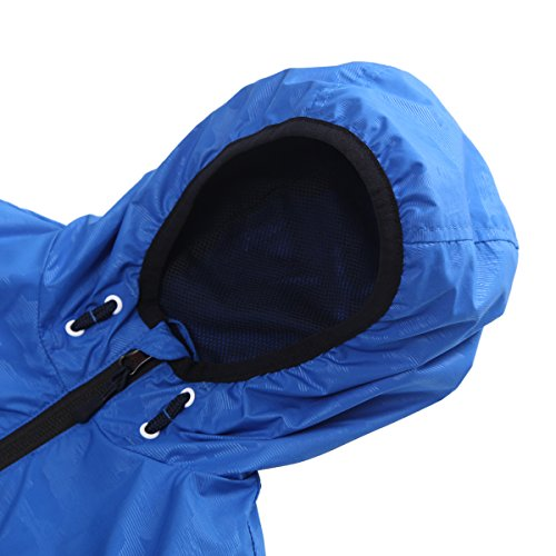 Rokka&Rolla Boys' Lightweight Water Resistant Zip-Up Hooded Windbreaker Jacket by Rokka&Rolla (Image #4)