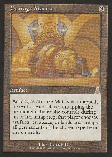 Urzas Destiny Magic Card - Storage Matrix (Magic the Gathering : Urza's Destiny #138 Rare)