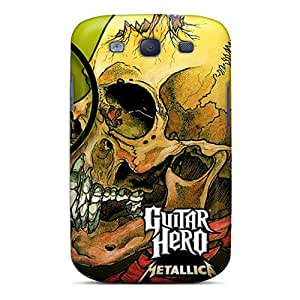 Defender Case For Galaxy S3, Guitar Hero Metallica Pattern