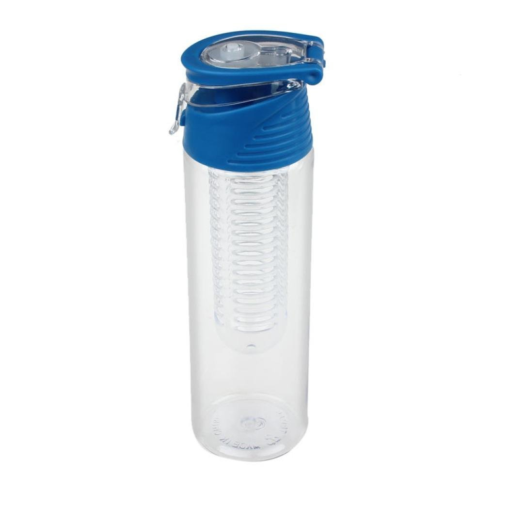 Flip Straw Tritan Drinks Sport Hydration Water Bottle Cycling Hiking Travel