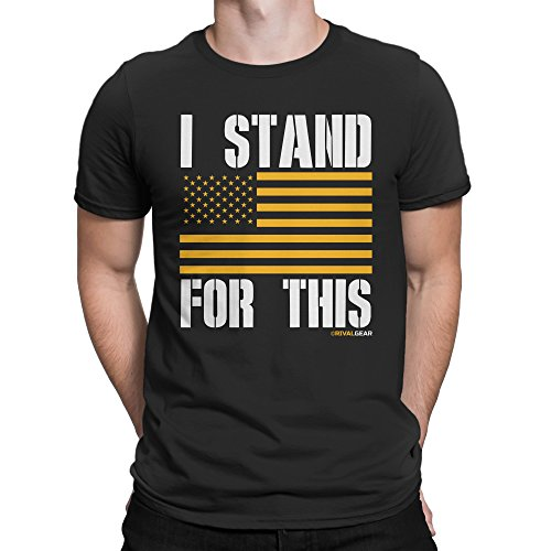 Rival Gear Pittsburgh Steelers Fan T-Shirt, I Stand For This by